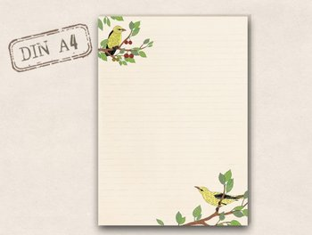 A4 Briefpapierblok TikiOno | Wielewaal