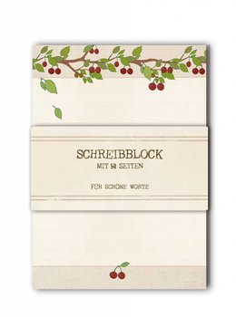A5 Letter Paper Pad TikiOno | Cherries