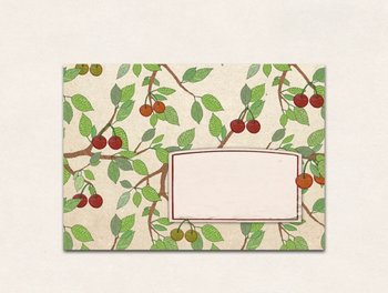 10 x Envelope TikiOno | Cherries