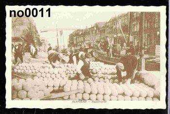 Oud Hollandse Postkaart | Alkmaar, kaasmarkt
