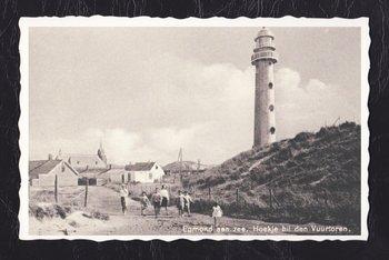 Oud Hollandse Postkaart | Hoekje bij den Vuurtoren