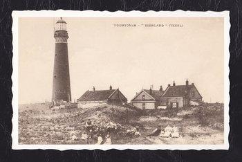 Oud Hollandse Postkaart | Texel. Vuurtoren