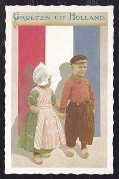Oud Hollandse Postkaart | Groeten uit Holland