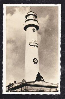 Oud Hollandse Postkaart | Vuurtoren van Speyk
