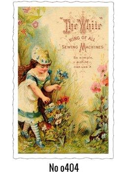Oud Hollandse Postkaart | Girl
