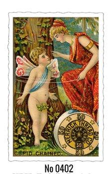 Oud Hollandse Postkaart | Cupid Chained