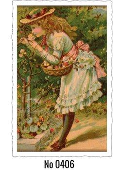 Oud Hollandse Postkaart | Rose Girl