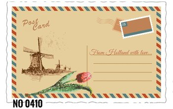 Oud Hollandse Postkaart | From Holland with love
