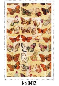 Oud Hollandse Postkaart | Butterfly