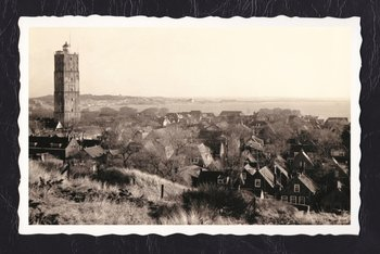 Oud Hollandse Postkaart | Terschelling, De Brandaris