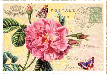 Postcard Edition Tausendschoen | Rose