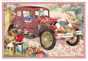 Postcard Edition Tausendschoen | Just Married