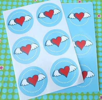 Sealing Stamp Stickers