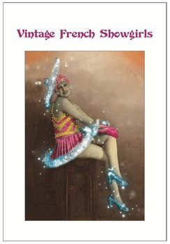 Vintage French Showgirls Postcard Set