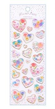 Puffy Epoxy Stickers   Lunar Tears Hearts