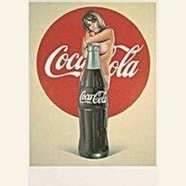 Postcard | Pin Up - Coca-cola