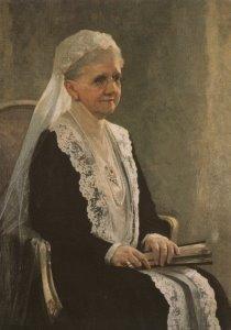 Postcard   Koningin Emma