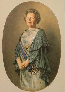 Postcard   Koningin Juliana