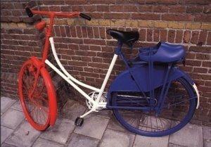 Postcard | Ronald Hammega - Dutch bike