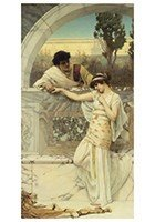 Postcard   John William Godward 1861-1922 - Yes Or No