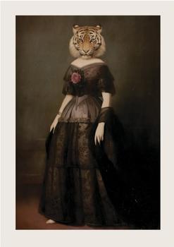 The Widow of Rauchgasse Postcard by Stephen Mackey