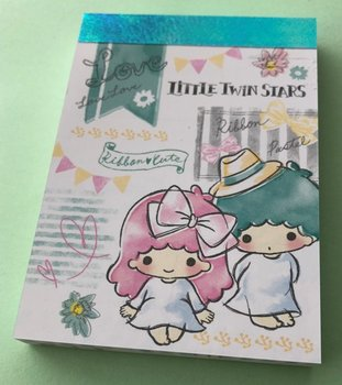 Sanrio Mini Memo Pad Sanrio | Little Twin Stars