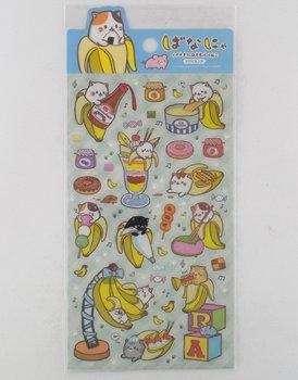 Bananya banana cat stickers