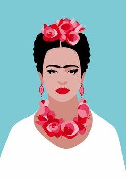 Pop Art Postcard | Frida Kahlo