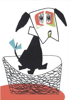 Fiep Westendorp Postcards   Hondje