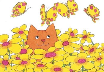 Dikkie Dik Postcards | Flowers