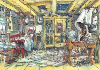 Gallery Cards Postcard | Marit Törnqvist, Karlssons room