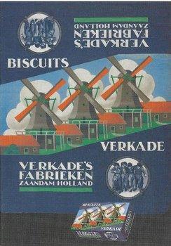 Museum Cards Postcard | Verkade reclame, Zaans Museum, Cees Dekker
