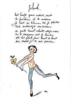 Museum Cards Postcard | Geluk, Toon Hermans