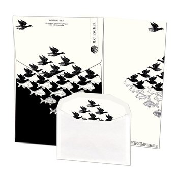 Writing Set | Lucht en water, M.C. Escher