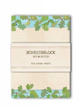 A5 Letter Paper Pad TikiOno | Eichenlaub