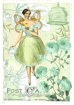Postcard Edition Tausendschoen | Fairy