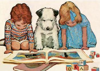 Postcard   Reading Time