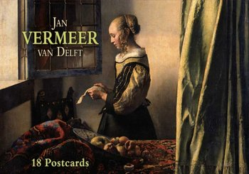 Tushita Postcard Book | Jan Vermeer van Delft