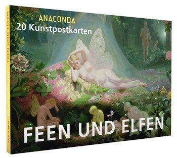 Anaconda Art Postcard Book | Feen und elfen
