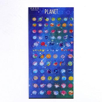 Flat Seal Sticker | Planet