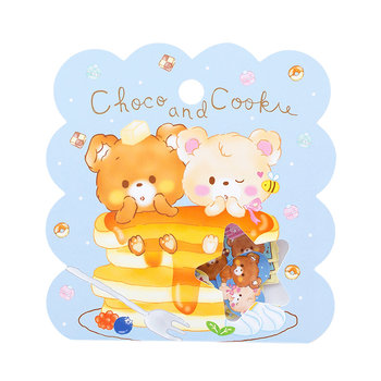 Sticker Flakes Sack | Choco and Cookie