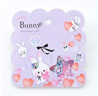 Sticker Flakes Sack | Merry Bunny