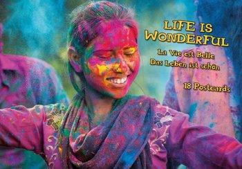 Tushita Postcard Book | Life is Wonderful