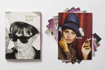 Icons of style postcards: 20 postcards
