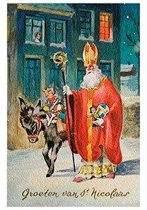 Postcard | A.N.B. - Groeten van St. Nicolaas
