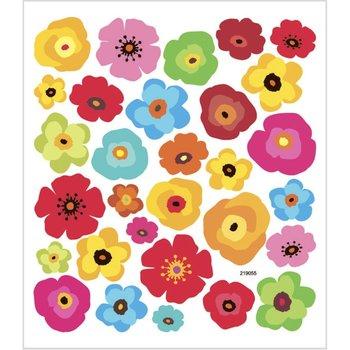 Seal Sticker met Glitter Folie | Bloemen