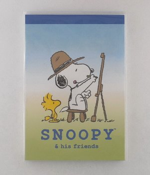 Memopad Snoopy & his friends