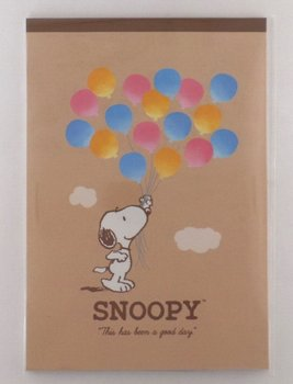 Letter Paper Pad | Peanuts Snoopy