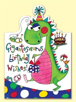 Rachel Ellen Designs - Postcards - Jelly Moulds - Gigantosaurus Birthday