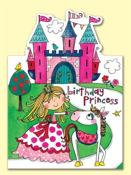 Rachel Ellen Designs - Postcards - Jelly Moulds - Birthday Princess